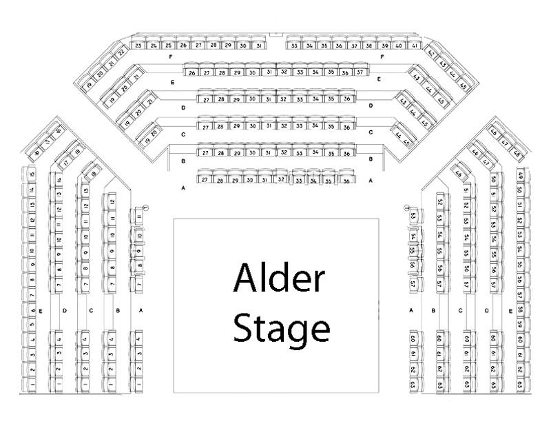 Alder Stage Seating Chart