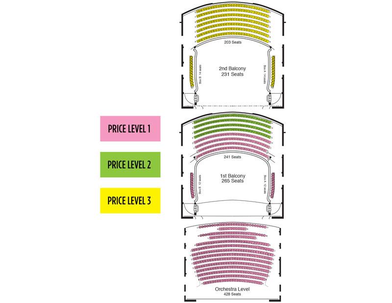 Newmark Seating Chart