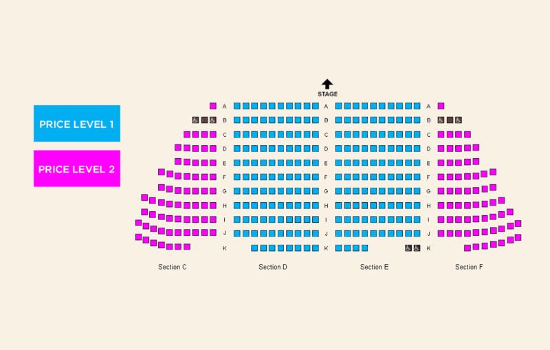 Northwest Children's Theater Seating Chart