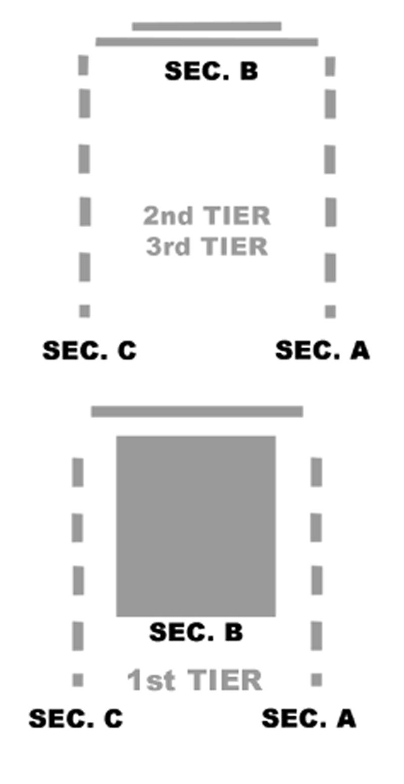 Winningstad Theatre  Seating Chart